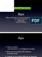 Ajax SAjax Script Aculo Us Et Autres Framework en PHP