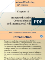 256452549 Chapter 16 Integrated Marketing Communications and International Advertising