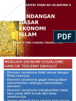 Materi Syariah 9. Pandangan Dasar Sistem Ekonomi Islam.pptx