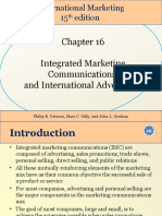 Student International Marketing 15th Edition Chapter 16