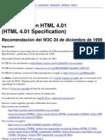 Manual HTML 4 0 1