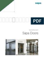 Sapa ion Brochure Doors