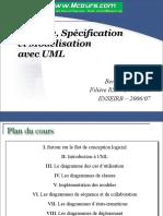 Analyse Specification Et Modelisation Avec UML