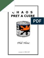 Phil Hine - Le Chaos prêt à Cuire