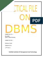 DBMS_PRJ