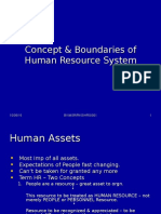 3Concept & Boundaries of Human Resource System