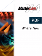 Whats New in Mastercam x4