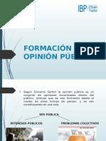 Formación de Opinión Pública