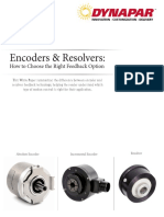Encoders and Resolvers How to Choose the Right Feedback Options