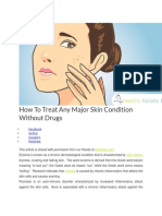 How to Treat Any Major Skin Condition Without Drugs