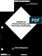 Aws b2.2 1991 Standard Brazing Procedure&Perform Qualifications