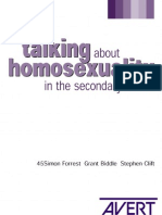 homosexuality in school