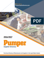 2016/2017 Pumper Supplier Directory
