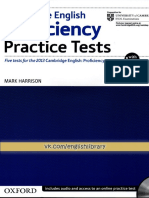 Proficiency Practice Tests 2012