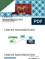 Cancer Radioinducido