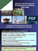 proceso de privatización en el Perú