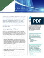 Windows Server 2016 Secure Evolve Innovate Solution Brief en US