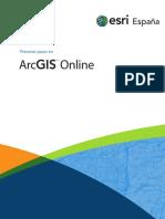 Primeros Pasos Con ArcGIS Online