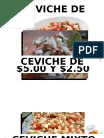 Ceviches Inocente