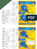 Caixas de Transmissão JDA - Linha CTS Ano 2015