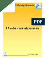 Surf Engineering 1 y 2 Semiconductor Properties