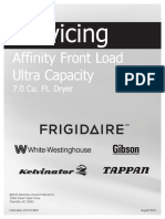 Frigidaire Affinity Dryer Service Manual