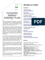 Personal Energy Descent Plan
