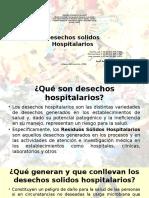 DESECHOS SOLIDOS HOSPITALARIOS