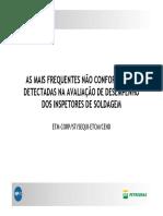 Analise de Inspetores Pela Petrobras
