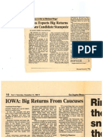 Iowa Caucus Game Coverage