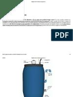 Biodigestor Casero de Bidón _ Energía Casera