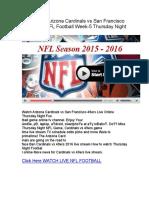 LIVE-NFL-Arizona-Cardinals-vs-San-Francisco-49ers-Live-Stream.pdf