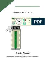 Stephan Ventilator ABV - Service Manual