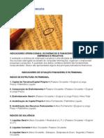 Medidas de Análise Financeira - formulas