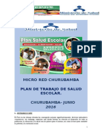 Plan Salud Escolar -Churubamba - Junio