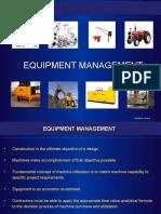 Equipment Management - Mr. Gautam Arora.ppt