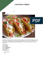 Tacos Mexicanos Original_NOITE MEXICANA