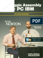Norton P., Socha J. - Linguaggio Assembly Per PC IBM (Jackson 2nd Ed. 1990)
