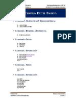 [Excel][001][Lista de Funciones][Basico] 26.09.15