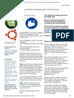 10 Things to Do First in Xubuntu 16.04