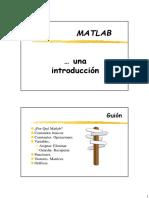 0 1 Introduccion Matlab