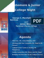 10-11th college night2016-17