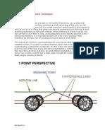 Principios Basicos Bocetaje Automotriz