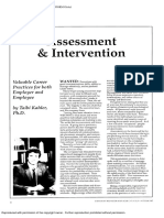 Drivers Assessment And Intervention
