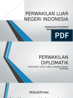 PERWAKILAN LUAR NEGERI INDONESIA