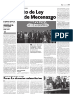 Mecenazgo (Hoy N°1638)