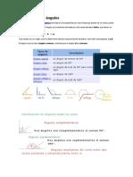 Cladificacion de Angulo