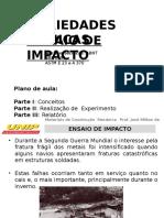 Aula III MCMA - Ensaio de Impacto