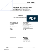 Instruction Operation and Maintenance Manual Vibration Monitoring System