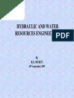 Hydraulic and Hydrologic Engineering